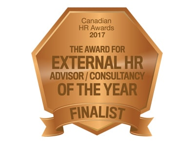 Canadian HR Awards 2017 - Finalist External HR Consultancy of the Year