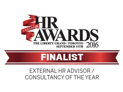 HR Awards Finalist 2015 - External HR Advisor Consultancy of the Year