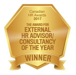 External HR Consultancy of the Year Winner 2017
