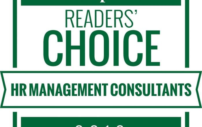 HR Reporter Readers' Choice HR Management Consultants 2019